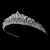 Swarovski Crystal and Pearl Tiara HP 7092 ** Discontinued**