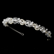 Swarovski & Pearl Bridal Headpiece HP 8129