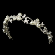 Vintage Pearl Bridal Headband HP 7808