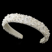 White Bridal Headband HP 8268