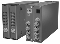 Pelco FR8308SSTR  Eight-Channel, Single-Mode, Fiber Transmitter and Receiver, ST Connector