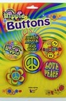5-Piece Hippie Button Set