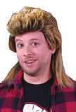 80's Mullet Wig - Blonde or Brown