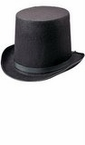 Abraham Lincoln Black Top Hat