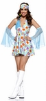 Adult 60's Free Spirit Costume
