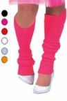Adult Acrylic 80's Leg Warmers - More Colors