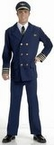Adult Airline Pilot Uniform Costume
