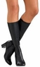 Adult Black Go Go Knee Boots