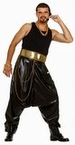 Adult Old School Rapper Costume Candy Apple Costumes
