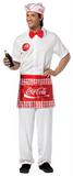 Adult Coca Cola Soda Jerk Costume