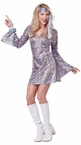 Adult Disco Hottie 60's Go Go Costume