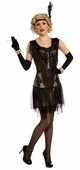 Adult Lacy Lindy Roaring 20's Flapper Costume