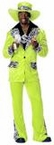 Adult Lime Green Dr. Styles Pimp Costume