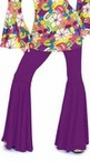 Women's Purple Passion Hippie Bell Bottom Pants