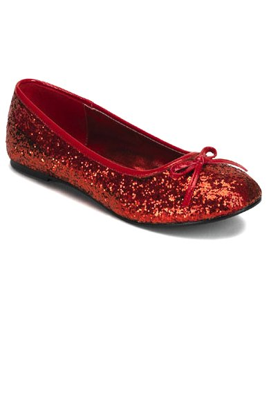 TOMS Womens Shimmer Red Glitter Slip On Flats Shoes Size Y4 These are a use set of without box Tom's in decent shape has a little bit of wear and a slight stain in the inter white of the shoes but do Women's Ruby Red Glitter Custom Ballet Flats bestyload7od.cfs by Kitty Paws Shoes.