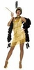 Adult Sexy Gold Dazzling Flapper Costume