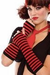 Adult Striped Arm Warmers - More Colors