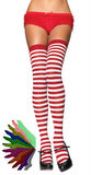 Adult Striped Thigh Highs - More Colors