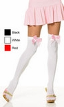 Adult Thigh High w/ Satin Bow - More Colors