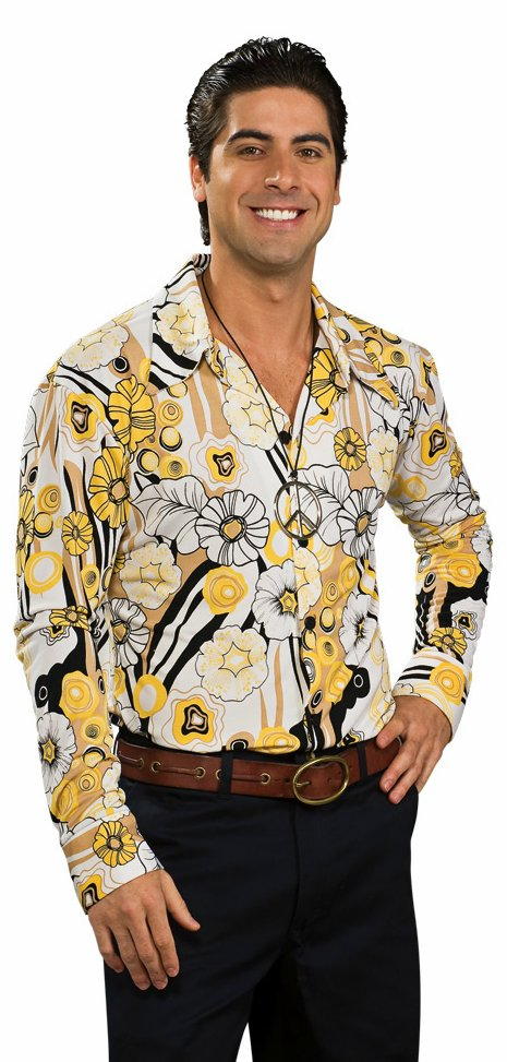 Groovy 7039;s Shirt  Candy Apple Costumes  Men39;s Costumes Under $30