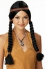 Black Indian Maiden Braided Wig