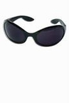 Black Retro First Lady Sunglasses