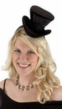 Black Velvet Cocktail Top Hat
