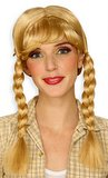 Blonde Pigtail Braids Wig