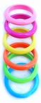 Bright Plastic Bangle Bracelet