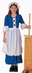 Child's Colonial American Girl Costume