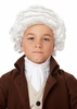 Child's Colonial Man White Wig