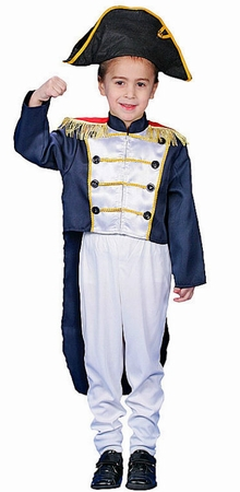 Child's Deluxe Colonial General Costume