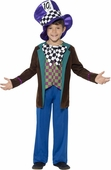 Child's Deluxe Mad Hatter Costume