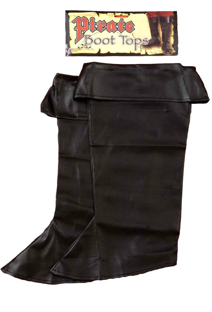 adult boot cover pirate