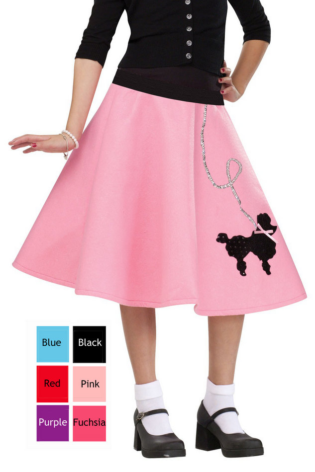 Child s poodle skirt more colors candy apple costumes poodle