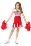 Child's Red Glee Club Cheerleader Costume