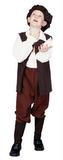 Child's Renaissance Boy Costume - Brown
