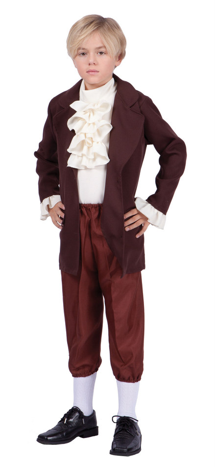 Child S Thomas Jefferson Costume Candy Apple Costumes