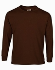 Child Size Brown Long Sleeve Tee Shirt