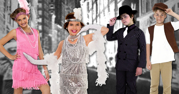 Children's 20's and 30's Costumes