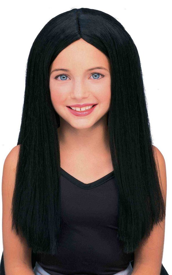 Child'S Long Pink Wig 66