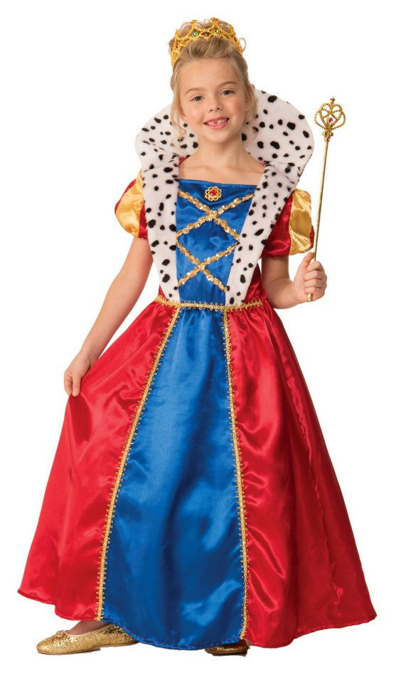 childs royal queen costume candy apple costumes new