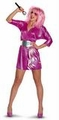 Deluxe Adult 80's Jem and the Holograms Costume