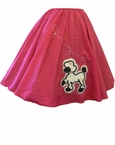 Deluxe Adult Pink Poodle Skirt