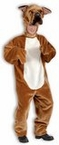 Deluxe Adult Plush Bull Dog Costume