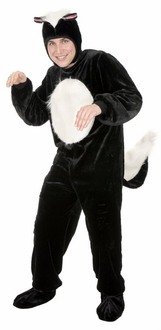 Deluxe Adult Skunk Costume