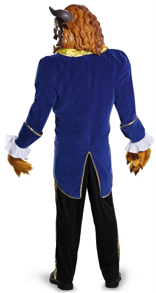 Deluxe Plus Size Beast Costume - Disney Beauty and the ...