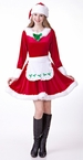 Deluxe Women's Mrs. Santa Claus Costume
