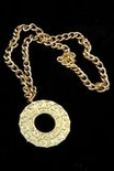 Disco Fever Medallion Necklace