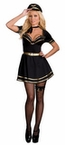 Dreamgirl French Air Mile High Captain Costume